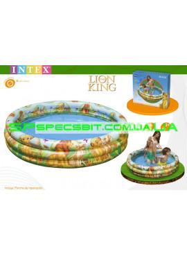 Детский надувной бассейн The Lion King Pool Intex (Интекс) 58420 147-33см