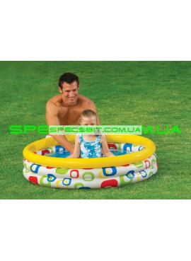 Детский надувной бассейн Wild Geometry Pool Intex (Интекс) 59419 114-25см
