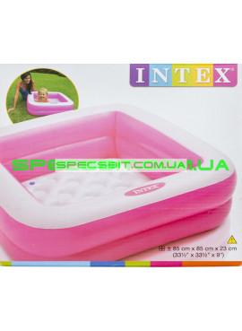 Детский надувной бассейн Play Baby Pools Intex (Интекс) 57100-R 85-85-23см