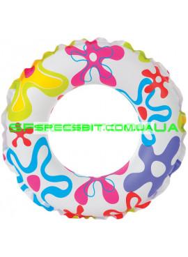 Детский надувной круг Pool School Intex (Интекс) 59230 51см