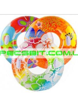 Детский надувной круг Transparent Tube Intex (Интекс) 58263-O 97см