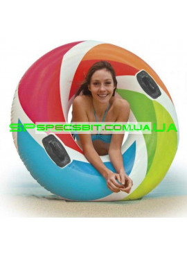 Детский надувной круг Pool School Intex (Интекс) 58202 122см