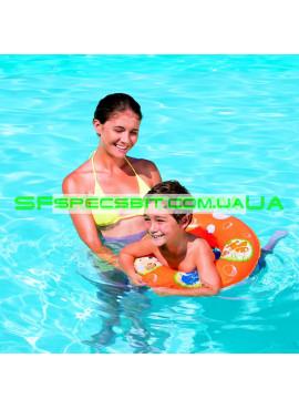 Детский надувной круг Pool School BestWay (Бествей) 91103 51см
