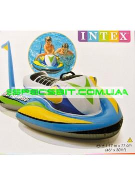 Детский надувной плотик для плавания Nixor Sports Intex (Интекс) 57520 117-77см