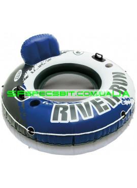 Надувное кресло-круг River run Intex (Интекс) 58825 135см