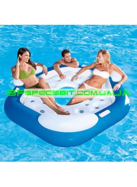 Надувное кресло-круг Sport Lounges Bestwey (Бествей) 43111 191-178см