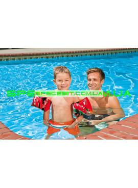 Детские нарукавники для плавания Deluxe Arm Bands Intex (Интекс) 56652 23-15см