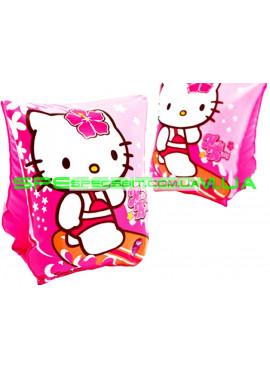Детские нарукавники для плавания Hello Kitty Intex (Интекс) 56656 13-19см