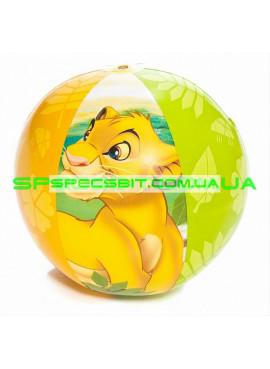 Надувной мяч Lion King Intex (Интекс) 58052 61см