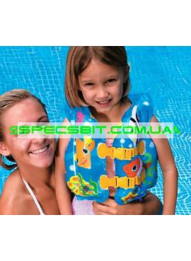 Детский надувной жилет Swim Vest Intex (Интекс) 59661 41-30см