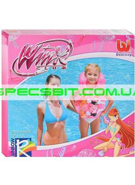 Детский надувной жилет Winx Club Besway (Бествей) 92003 51-460см