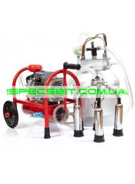 Доильный аппарат Буренка 1 Макси увеличенный коллектор на 240 см3 (1 ведро)