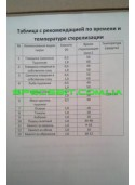 Автоклав черный бытовой средний (1л-14шт, 0,5л-25шт)