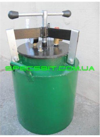Автоклав зеленый маленький винт (1л-5шт, 0,5л-12шт)