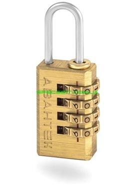 Замок навесной чемоданный АВАНТЕК NL20 серия Латунный