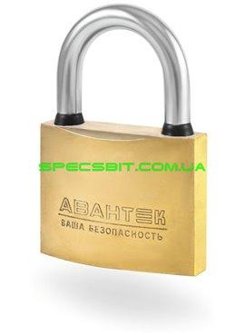 Замок навесной АВАНТЕК 0950 50 мм серия Золотой влагозащищенный, взломостойкий