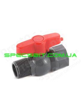 Кран шаровый Presto №PFV-0163 (Престо)  с 2 внутренней и наружной резьбой