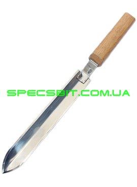 Нож пасечника нержавеющий угловой