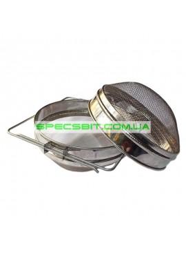 Сито фильтр 2 х кассетное нержавеющая сталь 200мм