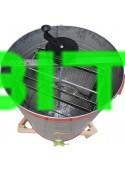 Медогонка НТЦ Чарунка 2-х рамочная нержавеющая Высокая рамка 435x470