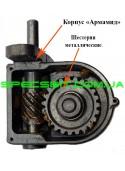 Медогонка 4-х рамочная нержавеющая, поворотная с центральным применением кассет со скобой