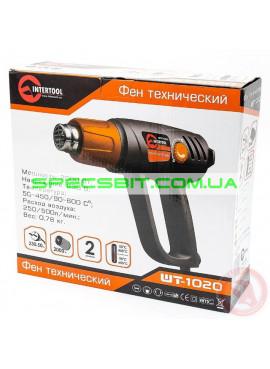 Фен технический Intertool (Интертул) WT 1020