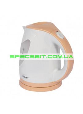 Электрический чайник Saturn (Сатурн) ST-EK0004 Cream 1,8л 2,0кВт двухцветная подсветка