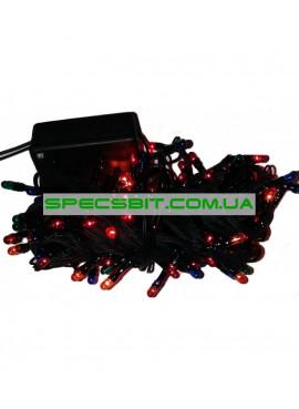 Гирлянда электрическая 100 лампочек, 8 функций, 4 м SH-124