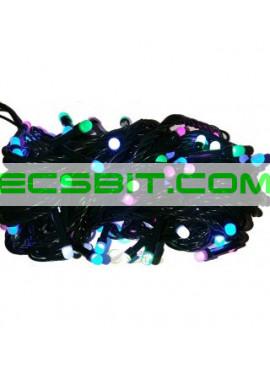 Гирлянда электрическая LED 100, 4 цвета, 8 функций SH131