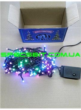 Гирлянда электрическая LED 300, 4 цвета, 8 функций SH134