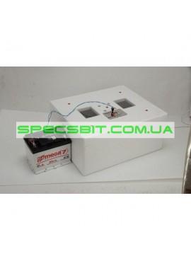 Инкубатор Несушка М 76, экспортная модель, автомат на 76 яиц, ТЭН, вентилятор, 220 В/ 12 вольт