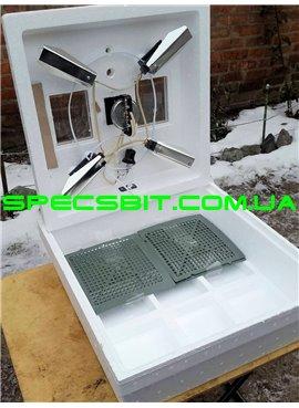 Мини инкубатор Кривой Рог МИ-30 ручной переворот на 80 яиц, мембранный