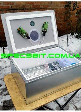 Инкубатор Наседка ИБ-100 на 100 яиц мех. Переворот, корпус металлический