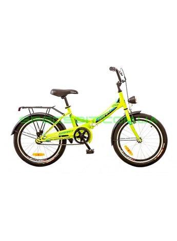 Велосипед складной Formula Smart 20 рама-13 лайм OPS-FR-20-027