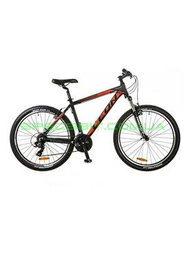 Велосипед горный MTB кросс-кантри LEON HT 85 рама-18 черный/красный OPS-LN-26-011