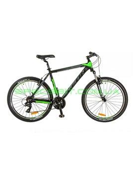 Велосипед горный MTB кросс-кантри LEON HT 85 рама-20 черный/зеленый OPS-LN-26-012