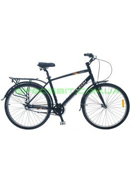 Велосипед городской LEON Solaris Man/рама-18 черный