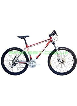 Велосипед горный MTB LEON XC PRO DD рама-18 черный/красный SKD-LN-26-044-1