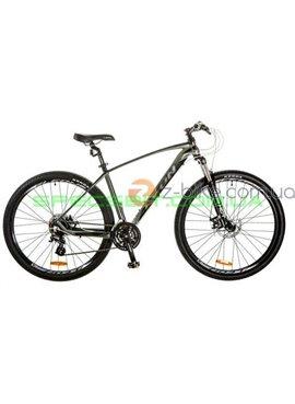Велосипед горный MTB LEON TN 80 рама-21 серый/черный OPS-LN-29-016