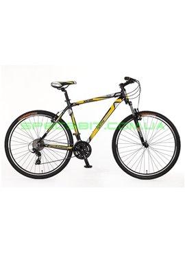 Велосипед горный MTB кросс-кантри Optima Bigfoot рама-19 серый/зеленый SKDCH-OP-29-004-1
