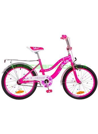 Велосипед Детский двухколесный для девочек Formula Flower 20 розовый OPS-FRK-20-049