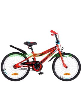Велосипед детский двухколесный Formula Race 20 красно-черный с синим OPS-FRK-20-046