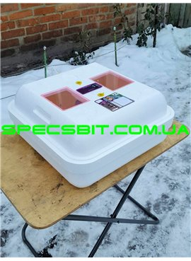 Инкубатор Рябушка SMARTручной переворот 70 яиц, цифровой, ТЭН, вентилятор. Модель 2018 года