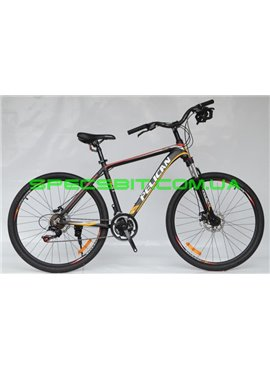Велосипед Pelican 27,5 PACIFIC рама-19 черн-красн-желт
