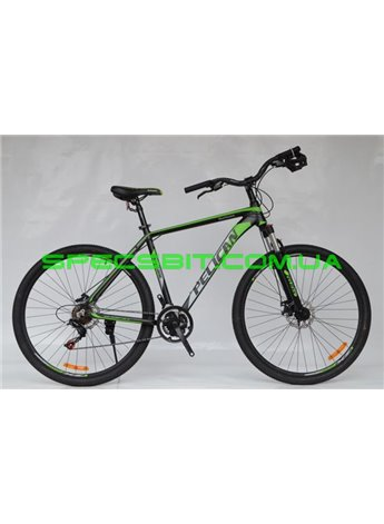 Велосипед Pelican 29 HURRICANE рама-21 черн-сер-зелен