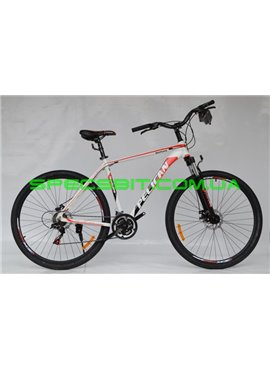 Велосипед Pelican 29 HURRICANE рама-21 бел-красн-черн
