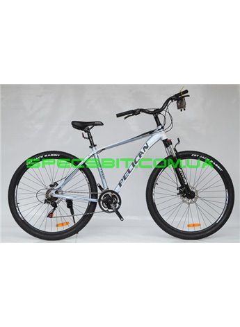 Велосипед Pelican 29 ESCAPE рама-19 серо-бел-черн