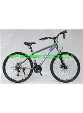 Велосипед Pelican 27,5 FIRE рама-15 серый-зел-син