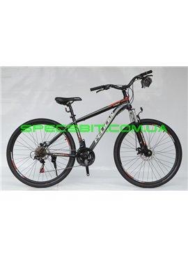 Велосипед Pelican 27,5 FIRE рама-15 черн-красн-серый