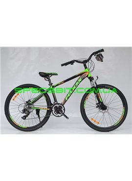 Велосипед Pelican 26 ISLAND рама-15 черн-зел-оранж